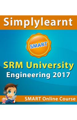 SRM University Engineering 2017 Online SMART Subscription Online Test