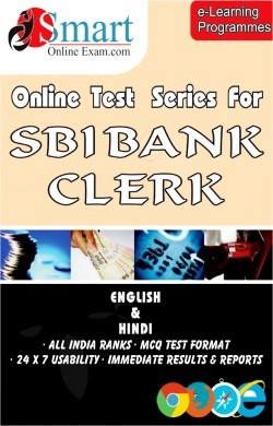 Online Test Series For SBI Bank Clerk - English