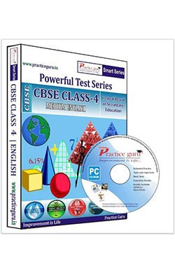 Smart Series Class 4 - Maths, EVS & English Combo CD English
