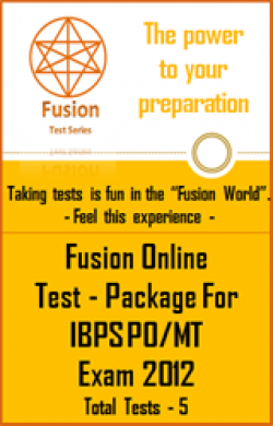 Test Package:IBPS PO/MT Exam 2012(5 Tests)