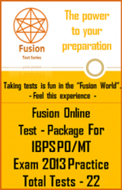 Test Package:IBPS PO/MT Exam 2013 Practice(22 Tests)