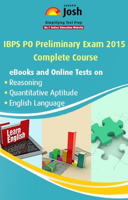 IBPS PO Preliminary Exam 2015 Complete Course - Online Test and eBook