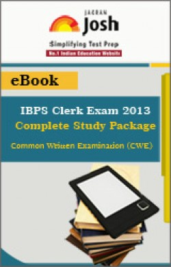 IBPS Clerk Exam 2013: Complete Study Package