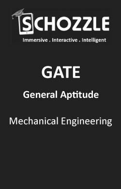 Mechanical Engineering General Aptitude