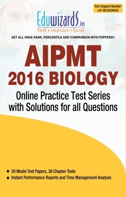 AIPMT 2016 Biology by Eduwizards - Online Test