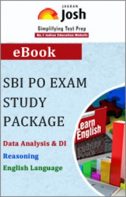 SBI PO Exam Study Package: Data Analysis & DI + Reasoning + English Language