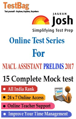 NIACL Assistant Prelims Mock Test