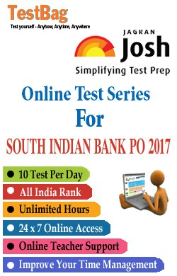 South Indian Bank Po (South Indian Bank Probationary Officers Recruitment Exam)