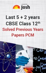 Last 5+ 2 years' CBSE Class 12th Solved Previous Years' Papers PCM - eBook